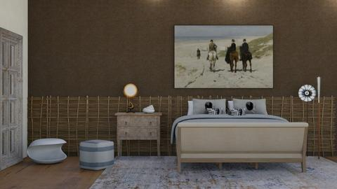 Contest 5 - Bedroom  - by claudia secareanu