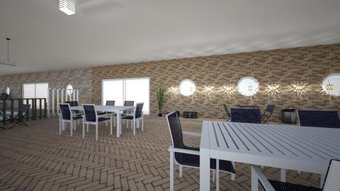 OD Dining Area and Pool - Garden  - by haenamiese_61