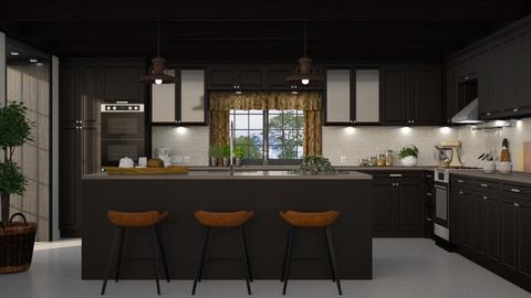 453 - Classic - Kitchen  - by Claudia Correia