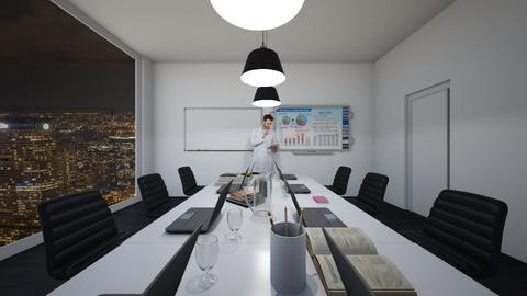 meeting - Modern - Office  - by sophiell