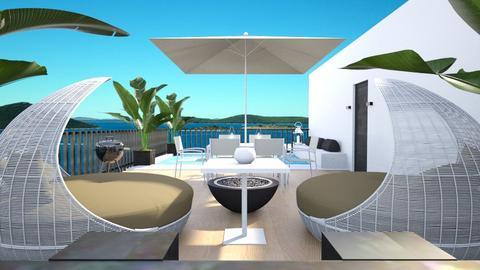 rooftop terrace - by ritsa