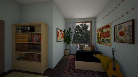 Cozy Bedroom - Eclectic - Bedroom  - by taliabr
