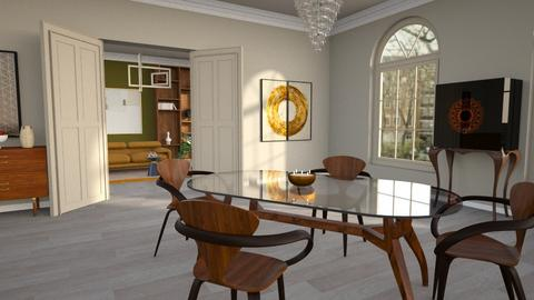 Pembridge Square - Modern - Dining room - by kitty