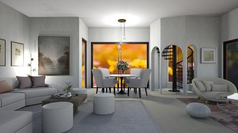 Decorate the room_Modern - Living room  - by Nantha
