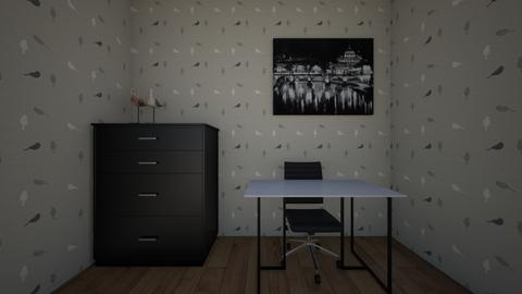 black office - Office  - by 11jears