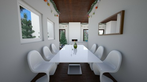 minimalist christmas - Minimal - Dining room - by mpy1999