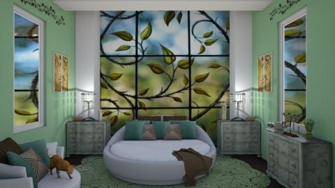 vines - Glamour - Bedroom  - by kla