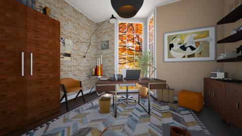 Autumn office - Classic - Office  - by Tuija