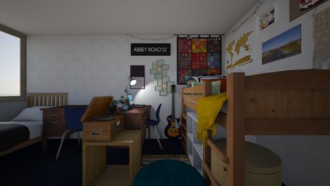freshman dorm room - Eclectic - by lauren543