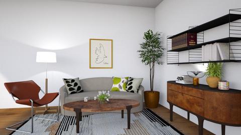 Scandinavian Design - Living room  - by Louise Stafilidou Hedlund