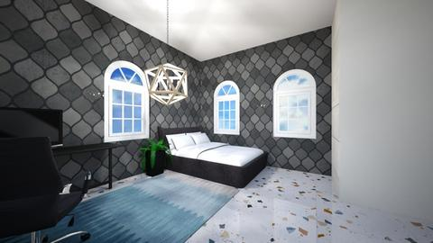 Dark Bedroom - Bedroom  - by Snowball Styler