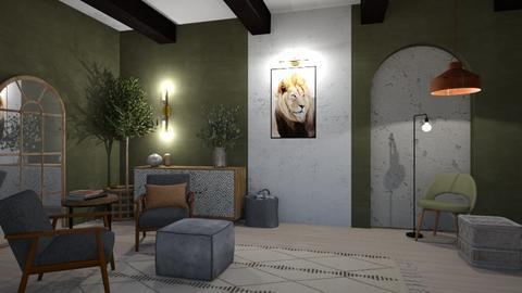 Char n Coal - Global - Living room  - by SunflowerStudios