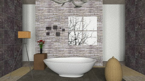 bathroom - Country - Bathroom  - by tcrazzyt