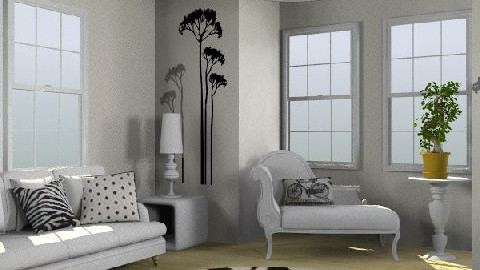 Mono 2 - Eclectic - Living room  - by karma kitten