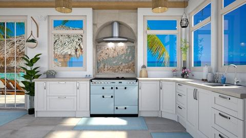 Home at the beach - Classic - Kitchen  - by Amyz625