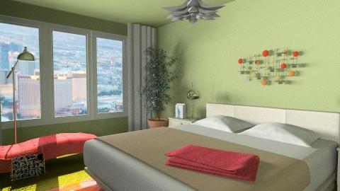 Las Vegas Retreat - Modern - Bedroom  - by LadyVegas08
