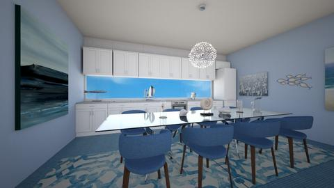 Ocean Kitchen - Kitchen  - by Chrispow0105
