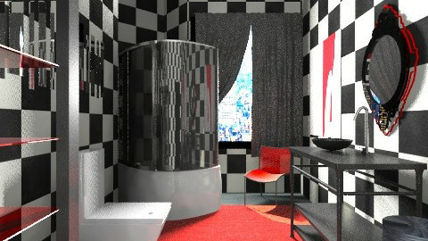 small but flashy - Modern - Bathroom  - by beabiabolhas