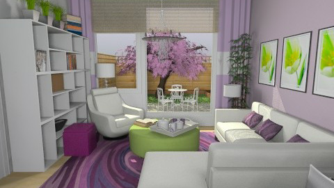 For Skibsey 1 - Eclectic - Living room - by Theadora