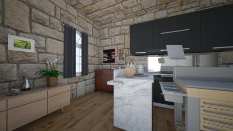 kuchnia - Kitchen - by Nati Lovi