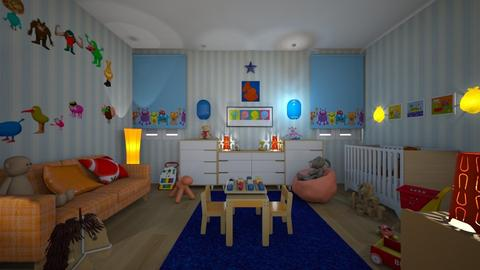 mark - Kids room  - by hillygabe