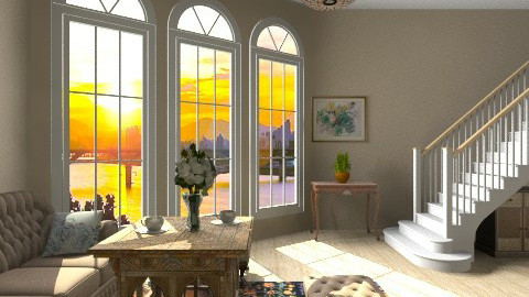Antica - Retro - Living room  - by Haecinta