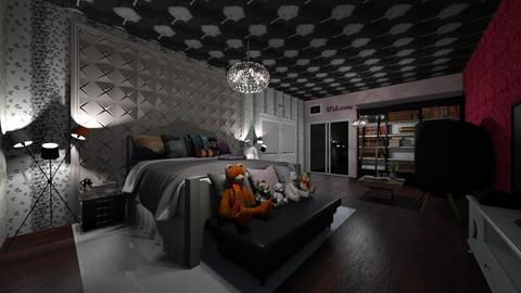 Teenager Bedroom - Feminine - Bedroom - by Ravina_9069