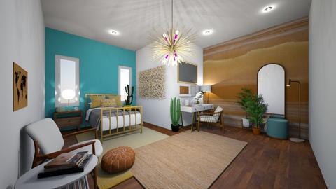 teen bedroom  - Bedroom  - by syli2726