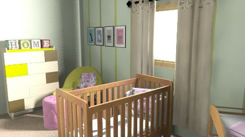 Nursery - Country - Kids room  - by erincoyle