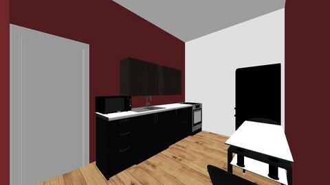 minimalist all black them - Modern - by yerselyis
