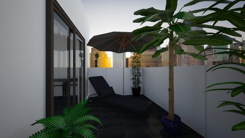 Balcony - by lokneszikolbasz