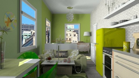 small apartment - Eclectic - by martinabb