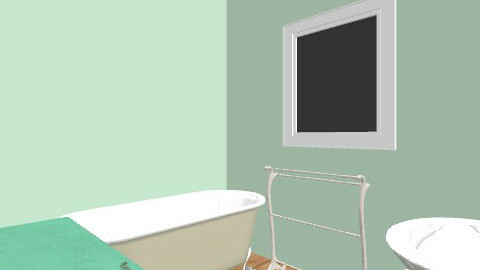 downstairts bathroom - Vintage - Bathroom  - by Aimeeallard