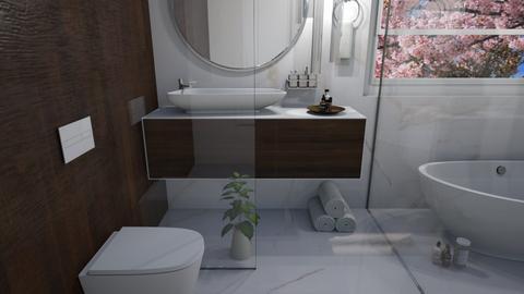 Golden Toilet - Rustic - Bathroom  - by Gouri Renjith