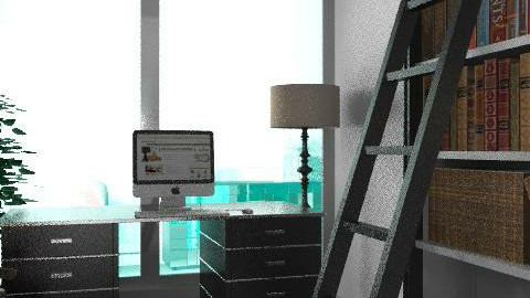 grey tones - Modern - Office  - by auntiehelen