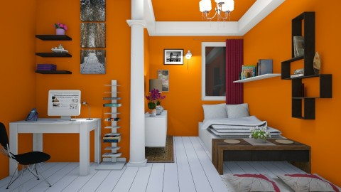 Stay Student - Minimal - Bedroom  - by fifi sefriyani