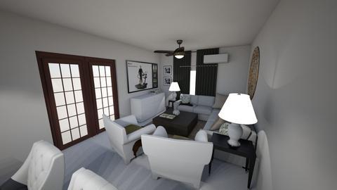 Sala Propuesta 2 - Living room  - by lornareynals