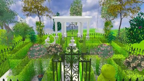 garden - Modern - by tita