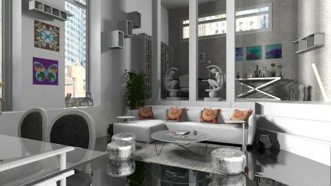 loft - Modern - Living room  - by carlita