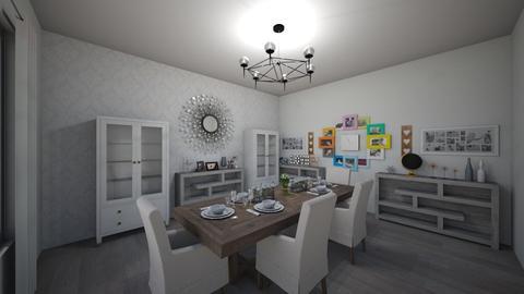 Dining Room - Dining room - by karrellvallecer04