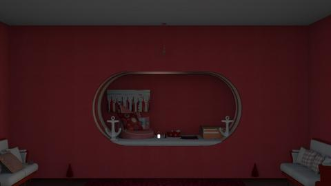 red redesign - Classic - Bedroom  - by noadesign