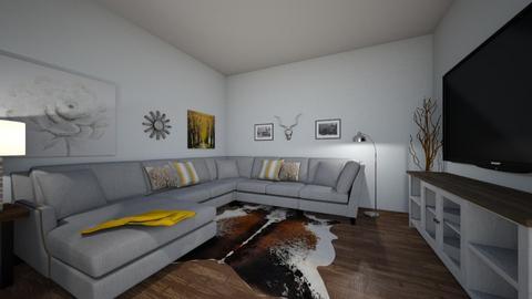 modern log cabin  - Modern - Living room - by EdWyn74
