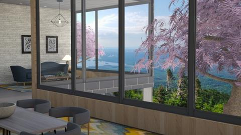 Big Windows - Living room  - by cowplant_4life