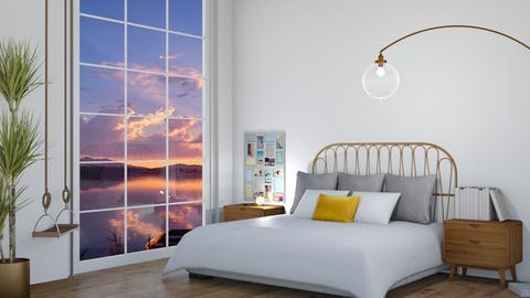 Sunset Bedroom - Bedroom  - by KittyKat28