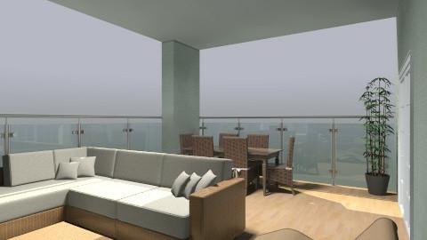 balcony - Modern - Garden  - by gizzzzz_