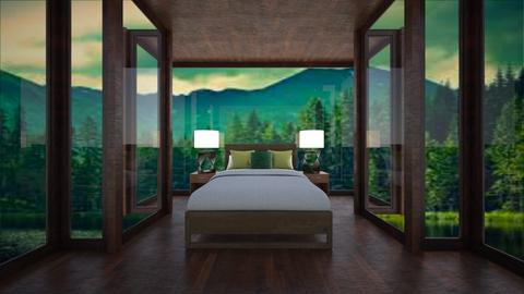 Mountain Bedroom - Bedroom  - by BaylorBear