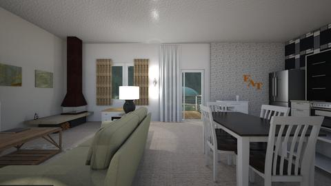Alaskan Space - Living room  - by mspence03