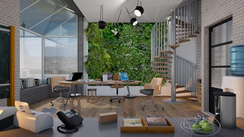 Living Office Wall - Office - by Mandine