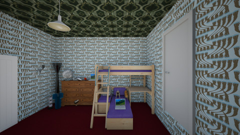 seths dream room - Bedroom  - by sshipton