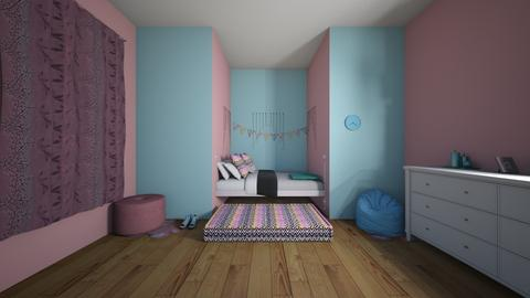 soft girl badroom - Bedroom  - by crying_room